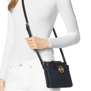 Michael Kors Fulton Saffiano Leather Crossbody Bag